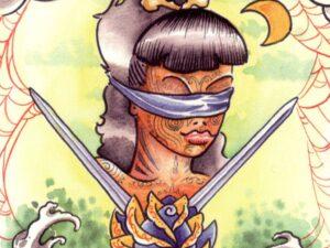 Tattoo tarot zwaarden 2